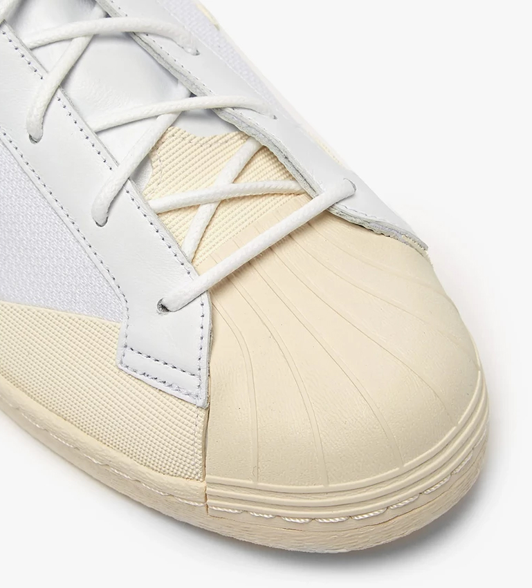 14366fa4e67b The shell toe gets reworked this time around with a combination of leather