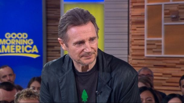 Liam Neeson Says He's Not a Racist After Discussing Wanting to Kill a Black Man