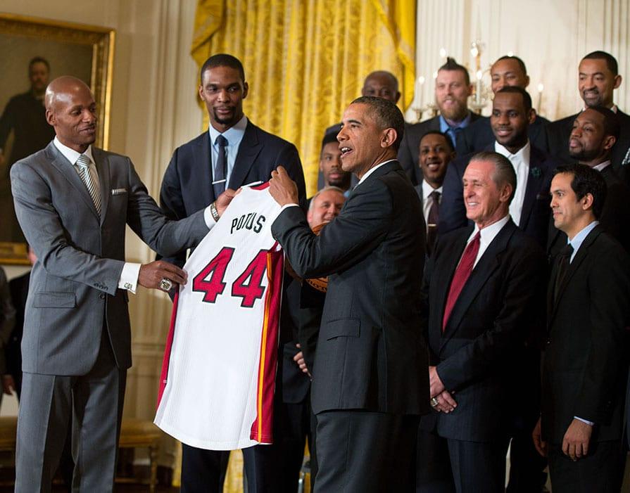 Barack Obama NBA