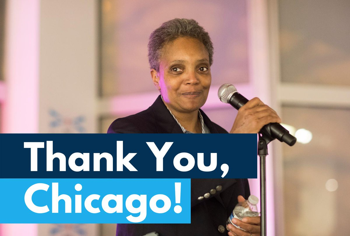 Chicago Mayor Results: Low Record Turnout, Run-Off, First Black Woman to be Elected
