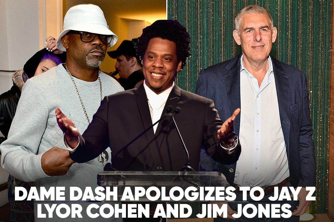 SOURCE REPORT   Dame Dash Apologizes to Jay-Z and Lyor Cohen, 21 Savage Released on Bond, Floyd Refuses to Cancel Gucci