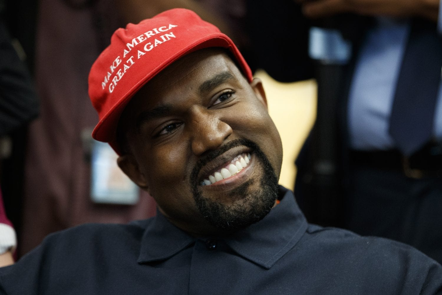 GLC Claims Kanye West is Never Wearing MAGA Hats Again