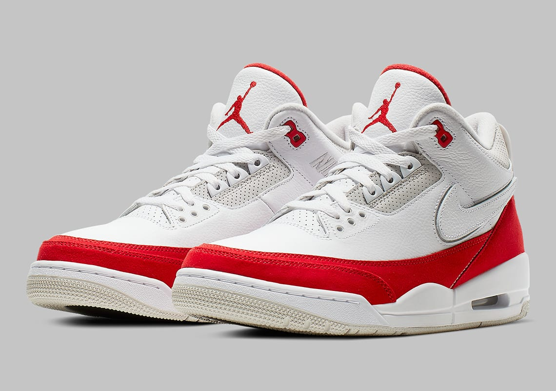 """Check for the Air Jordan 3 Tinker """"University Red"""" to drop as a quickstrike  release on March 30 for  200 USD. Check out more pics below  60f4ffdd6"""
