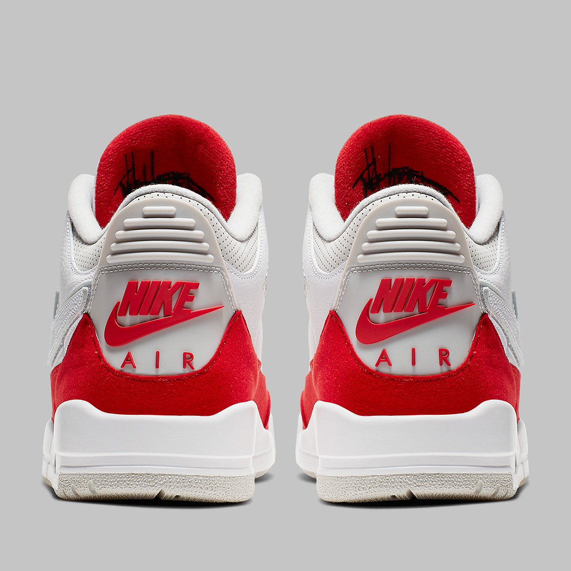 "pretty nice 07d1d ca123 Not only does the ""University Red"" version seen here give off a classic  color combo, the shoe also has a play on the Swoosh that was removed from  the ..."