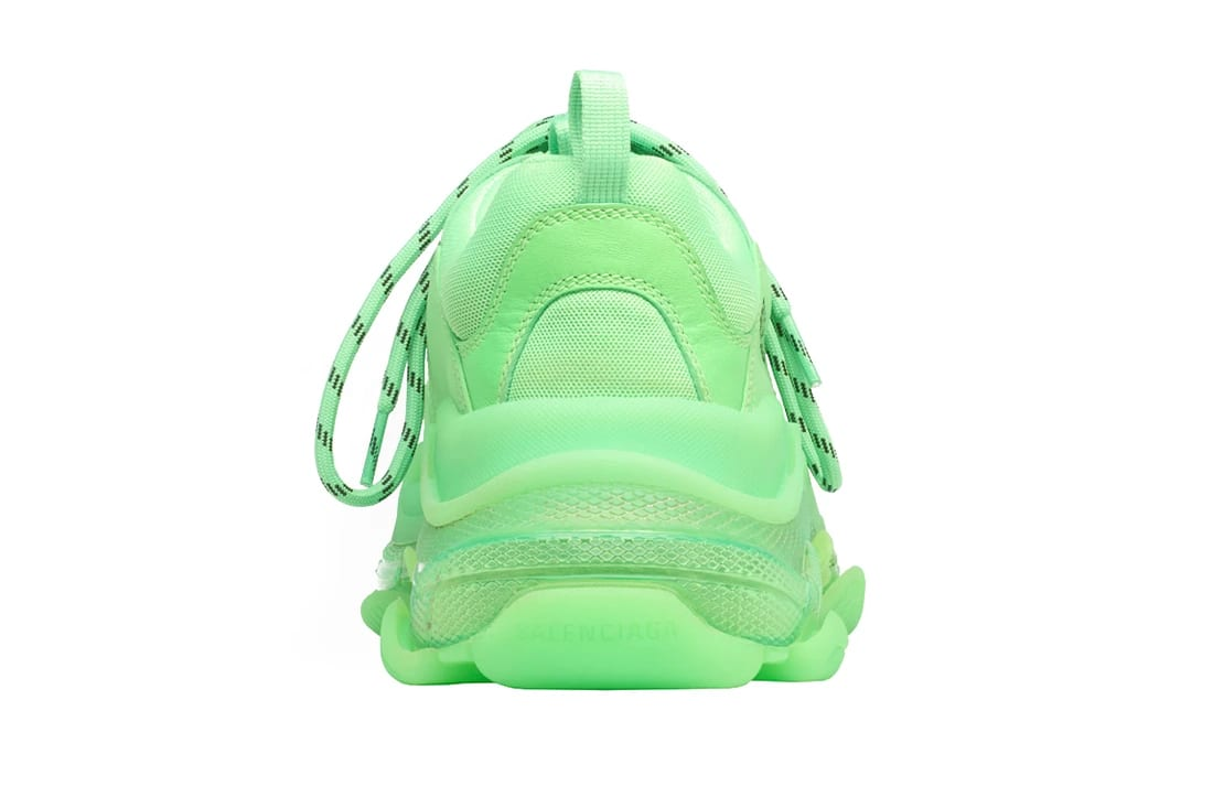337afa0a9 Pick up your own pair of the slimed-out Balenciaga Triple S right now  through the brand's online shop for $995 USD. More pics below:
