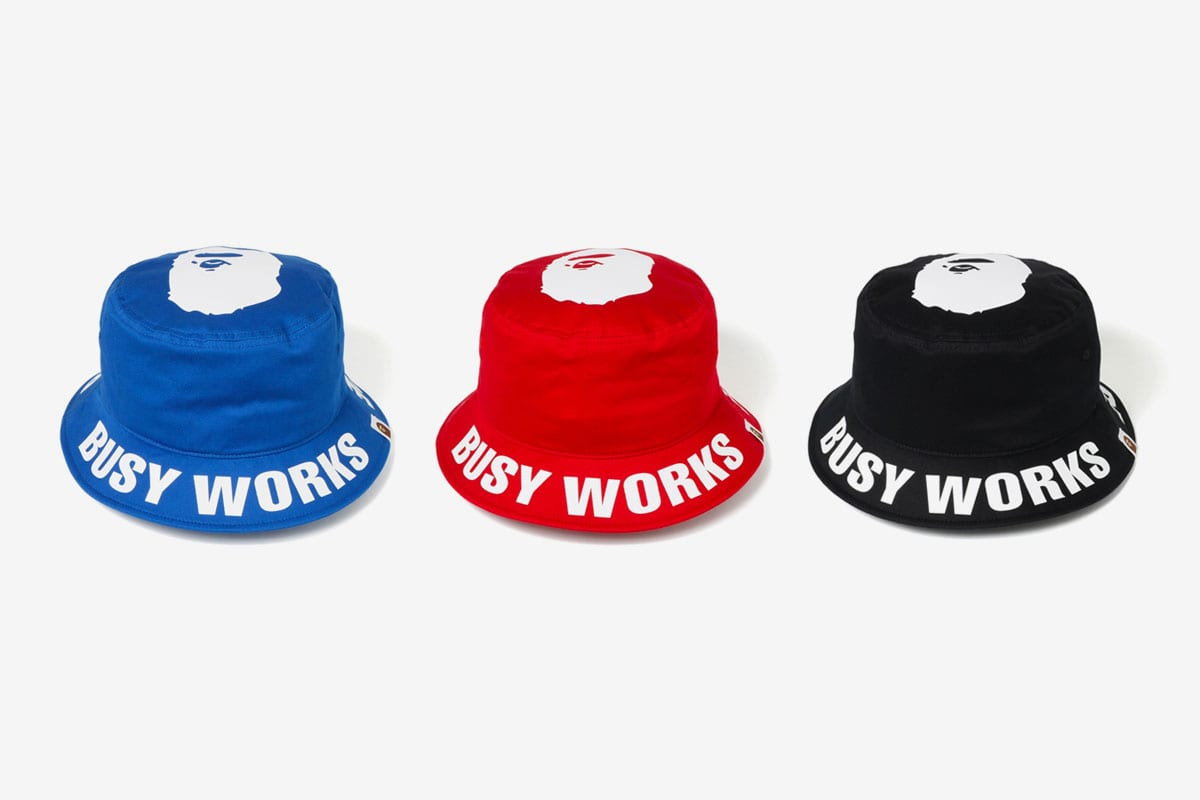 bape busy works store capsule collection