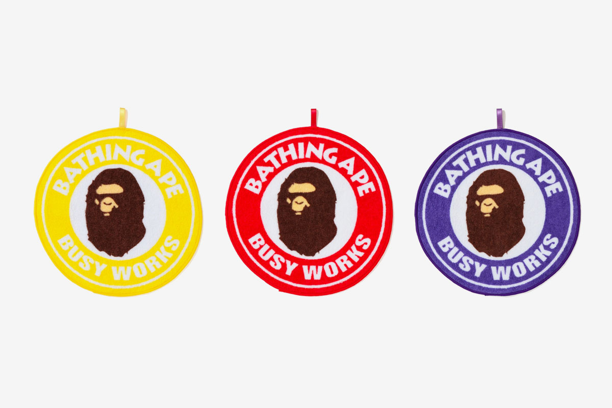 """The BAPE """"BUSY WORKS STORE"""" collection arrives this Saturday (March 2) at A Bathing  Ape stores worldwide and online. See the offering below  4e64ade7c835"""