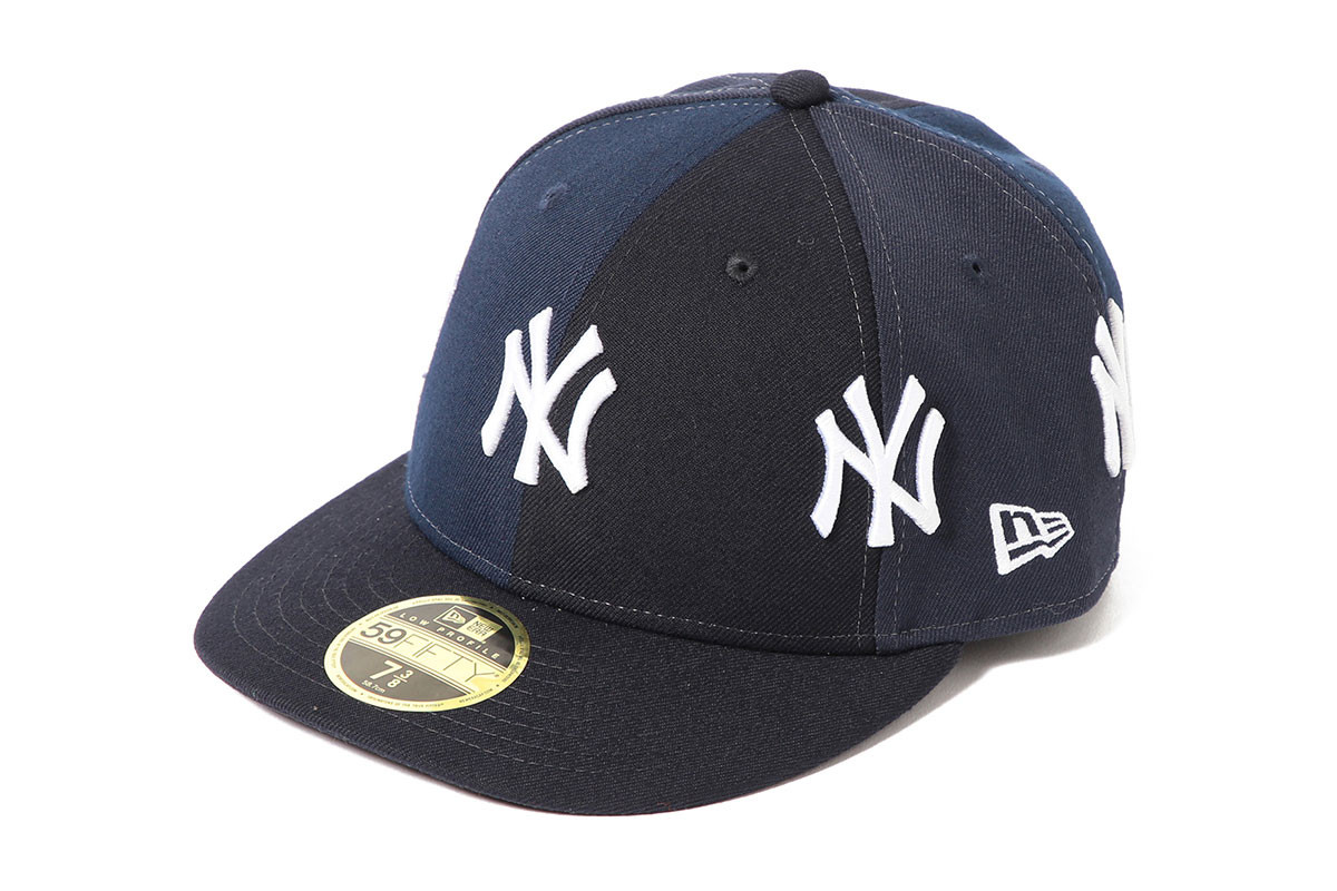 """9449de9b38e This """"Crazy"""" collab features two iterations of the 59FIFTY New York Yankees  fitted"""