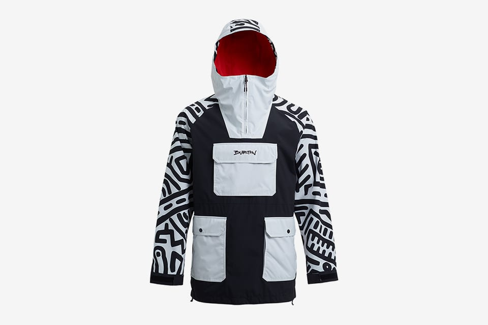 burton snowboarding keith haring collection
