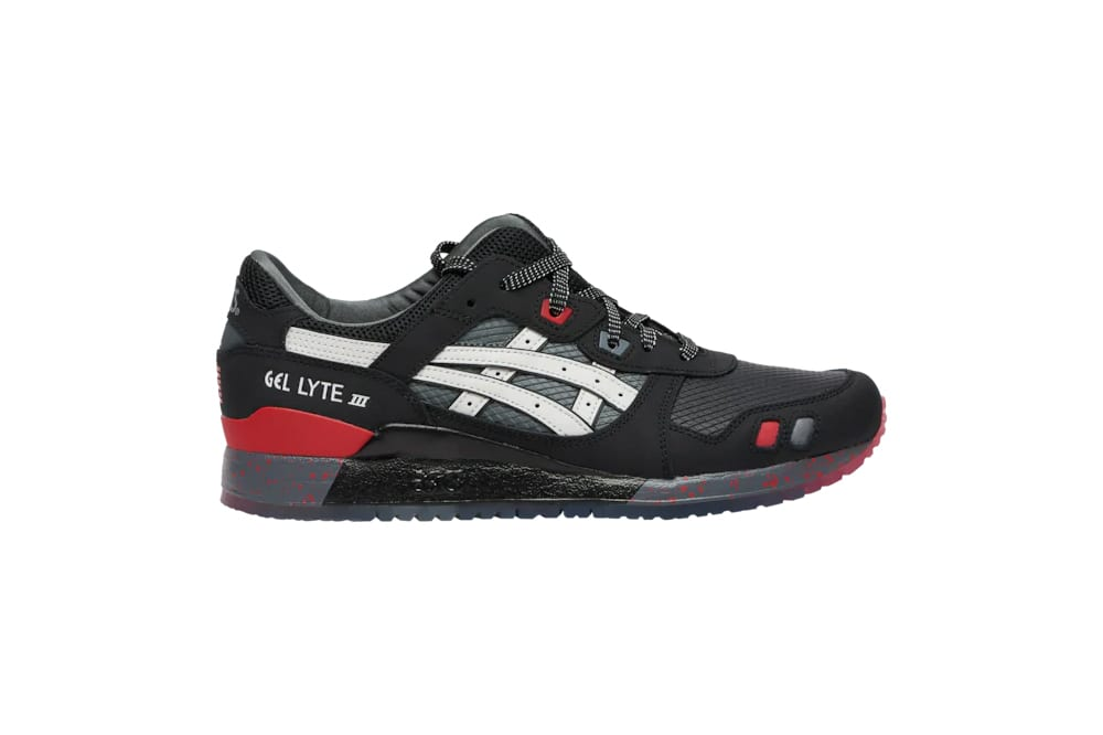 """... Shadow"""" and """"Snake Eyes"""" colorways in the ASICS GEL-Lyte III """"G.I. Joe""""  collection designed by Anderson Bluu right now exclusively at Foot Locker. df344a6152"""