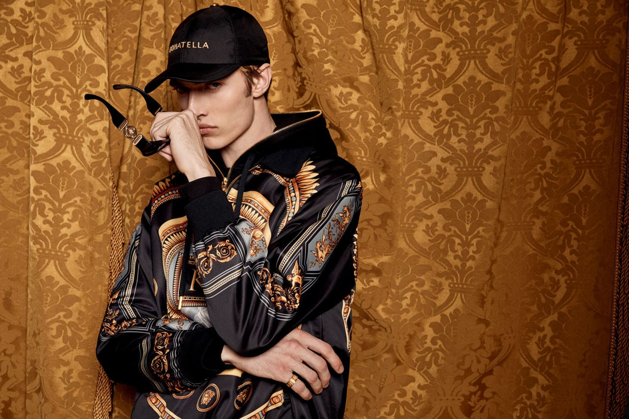 778a10fadb KITH   Versace Show Off the Men s Portion For the Collaborative Campaign