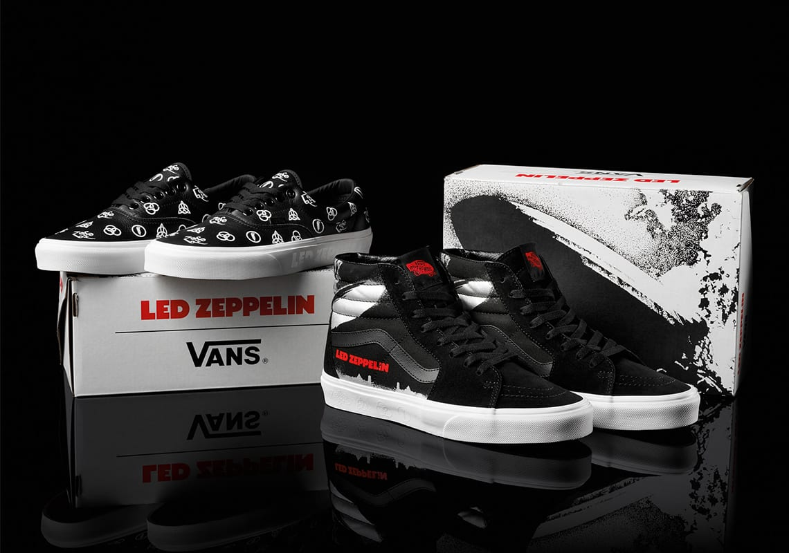 led zepplin vans collection release info
