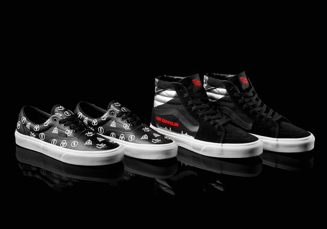 f452c7db2c4 Led Zeppelin Celebrates 50th Anniversary With Vans Collaboration ...