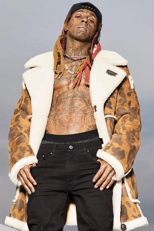 Weezy F. BAPE-y! Lil Wayne Stars in the A Bathing Ape x ...
