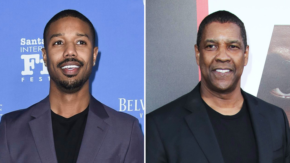 michael b jordan denzel washington