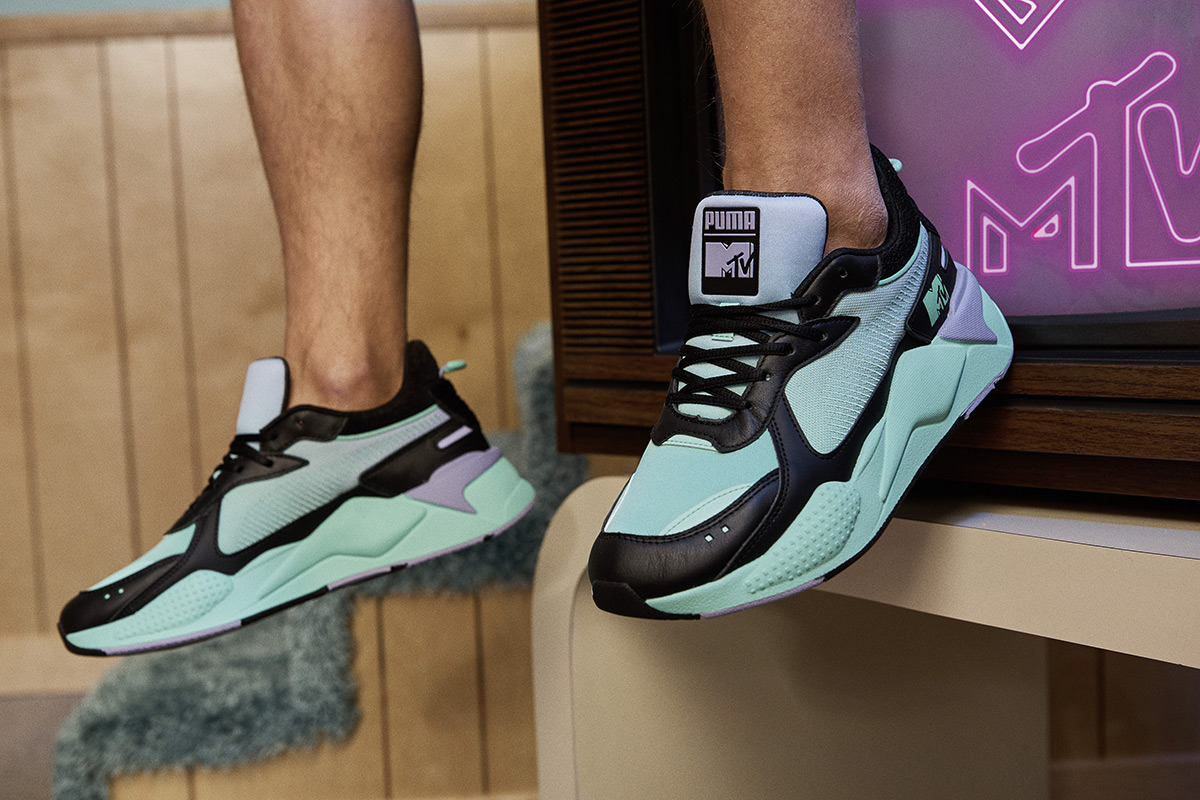 PUMA & MTV Partner Again For Retro-Inspired Collab, The RS-X ...