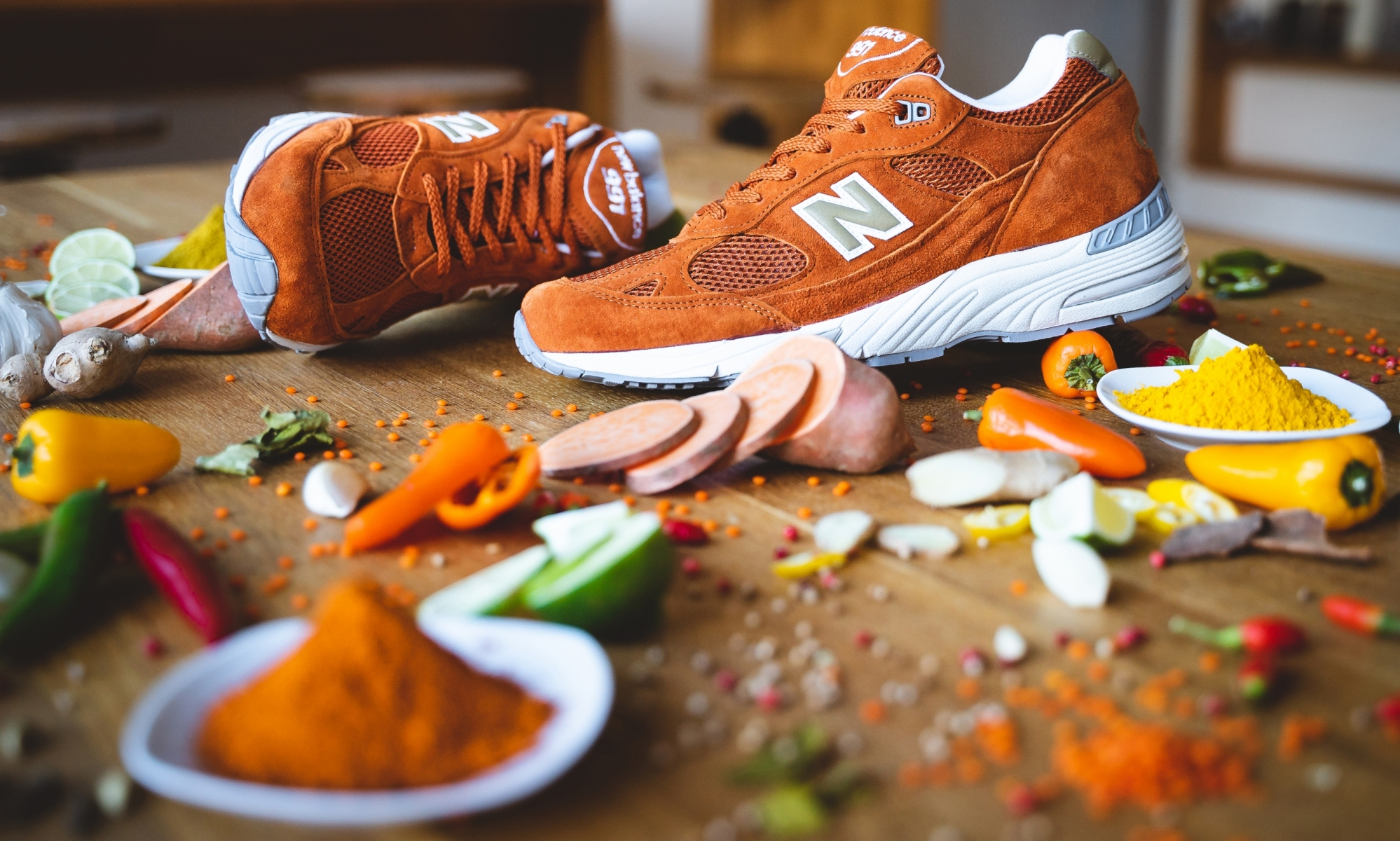 new balance MSE eastern spices burnt orange