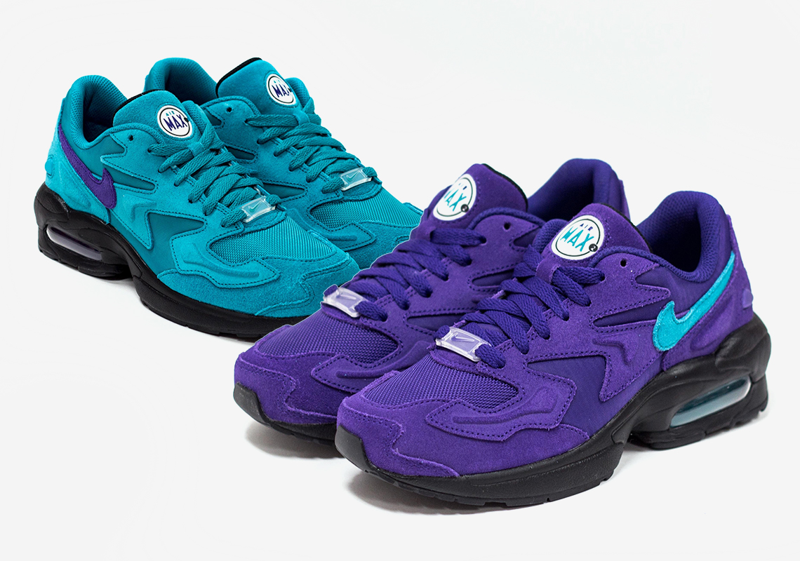 "free shipping afbae a7c91 Nike Pays Homage to the City of Charlotte With an Air Max 2 Light ""Hornets""  Pack"