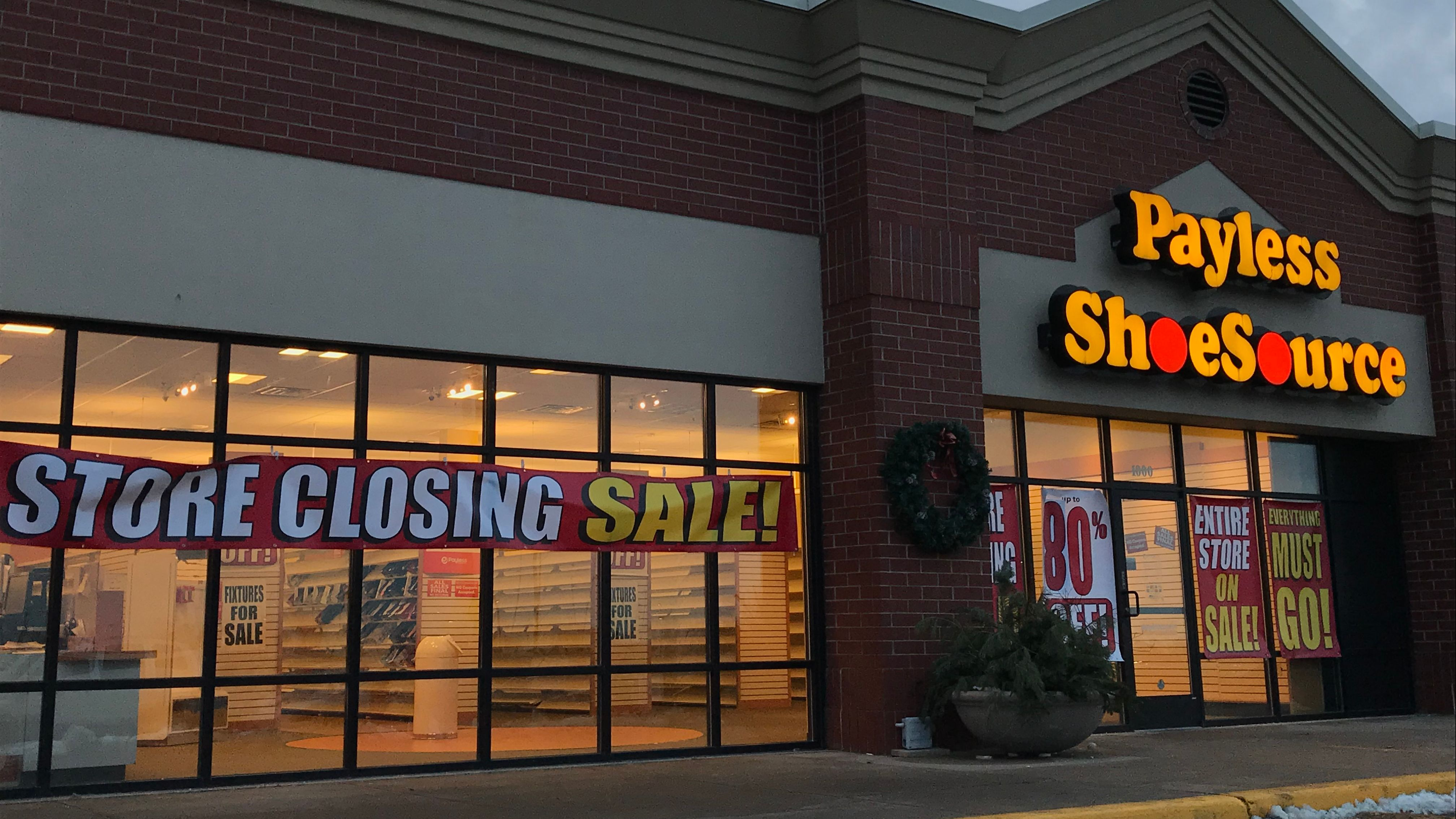 Discount shoe seller with 4 ME stores is folding