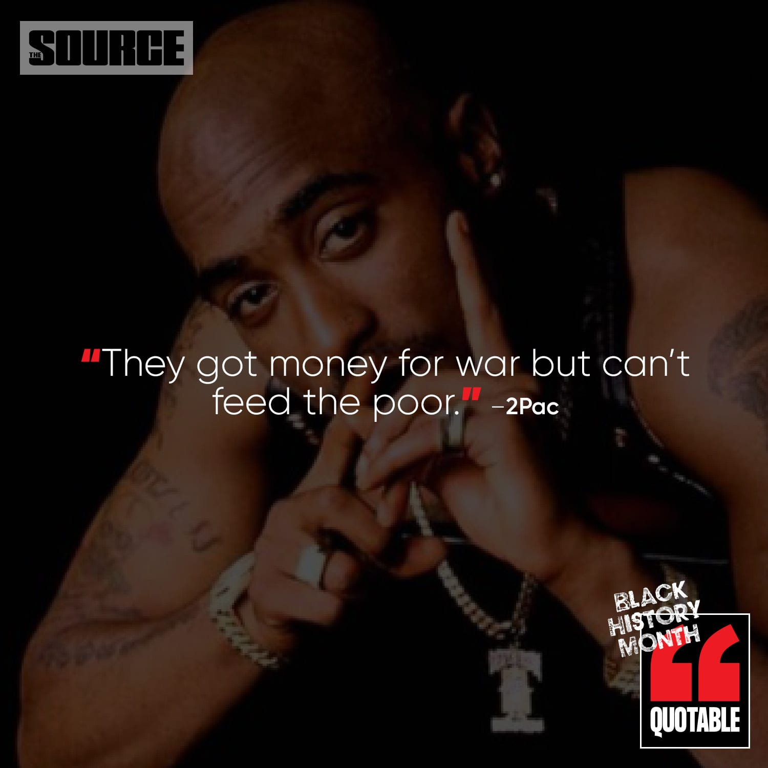 The Source Black History Icon of the Day: Tupac Amaru Shakur