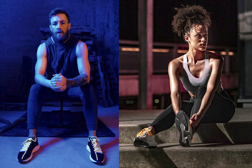 b38ac4f3b05d Reebok Rolls Out the New Sole Fury SS19 Colorways With Conor McGregor    Nathalie Emmanuel