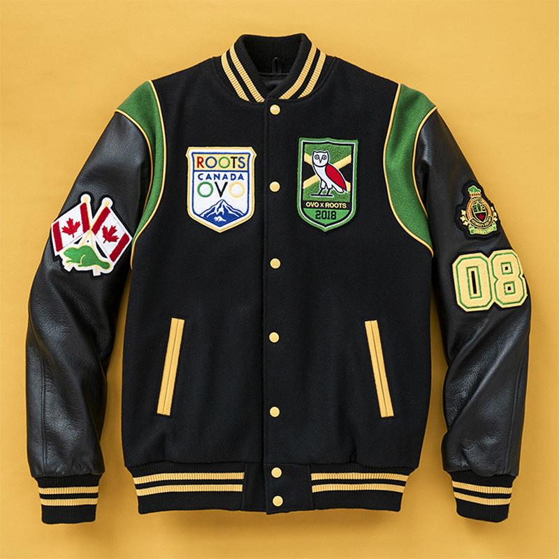 roots ovo calgary varsity jacket rerelease bob marley day
