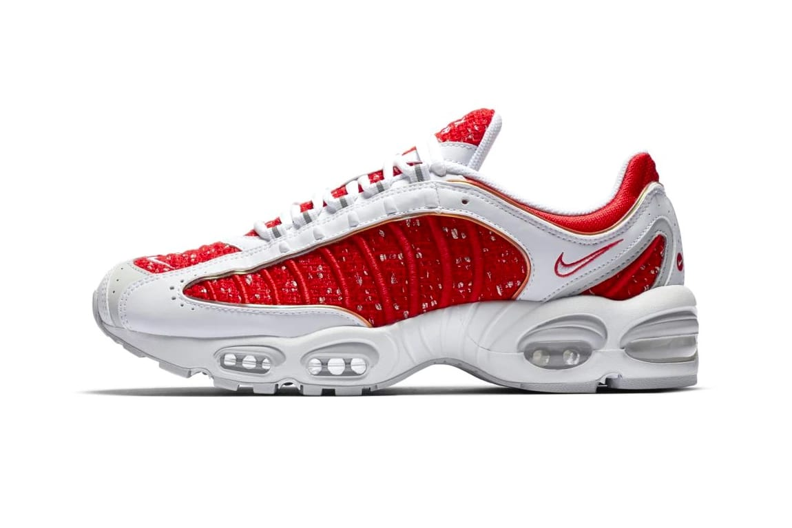 newest collection f79ce ad898 Take a Look At Supremes Nike Air Max Tailwind IV