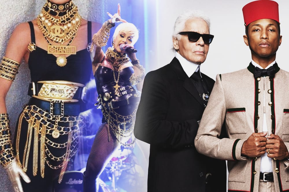 the source karl lagerfeld rip influence hip hop fashion