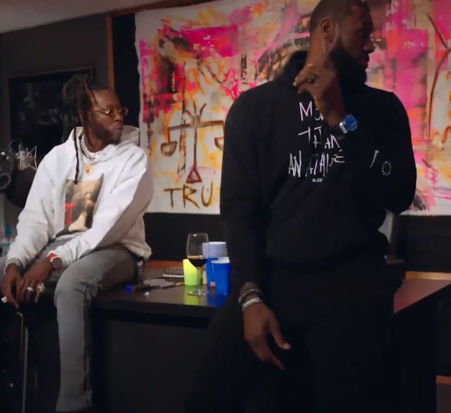 [WATCH] 2 Chainz x Lebron James Share Second Trailer From 'Rap Or Go To The League' Interview