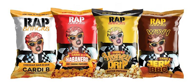 Cardi B Rap Snacks Flavors
