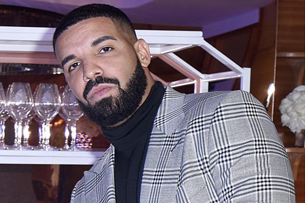 Drake Appears With Tattoo of Baby Adonis