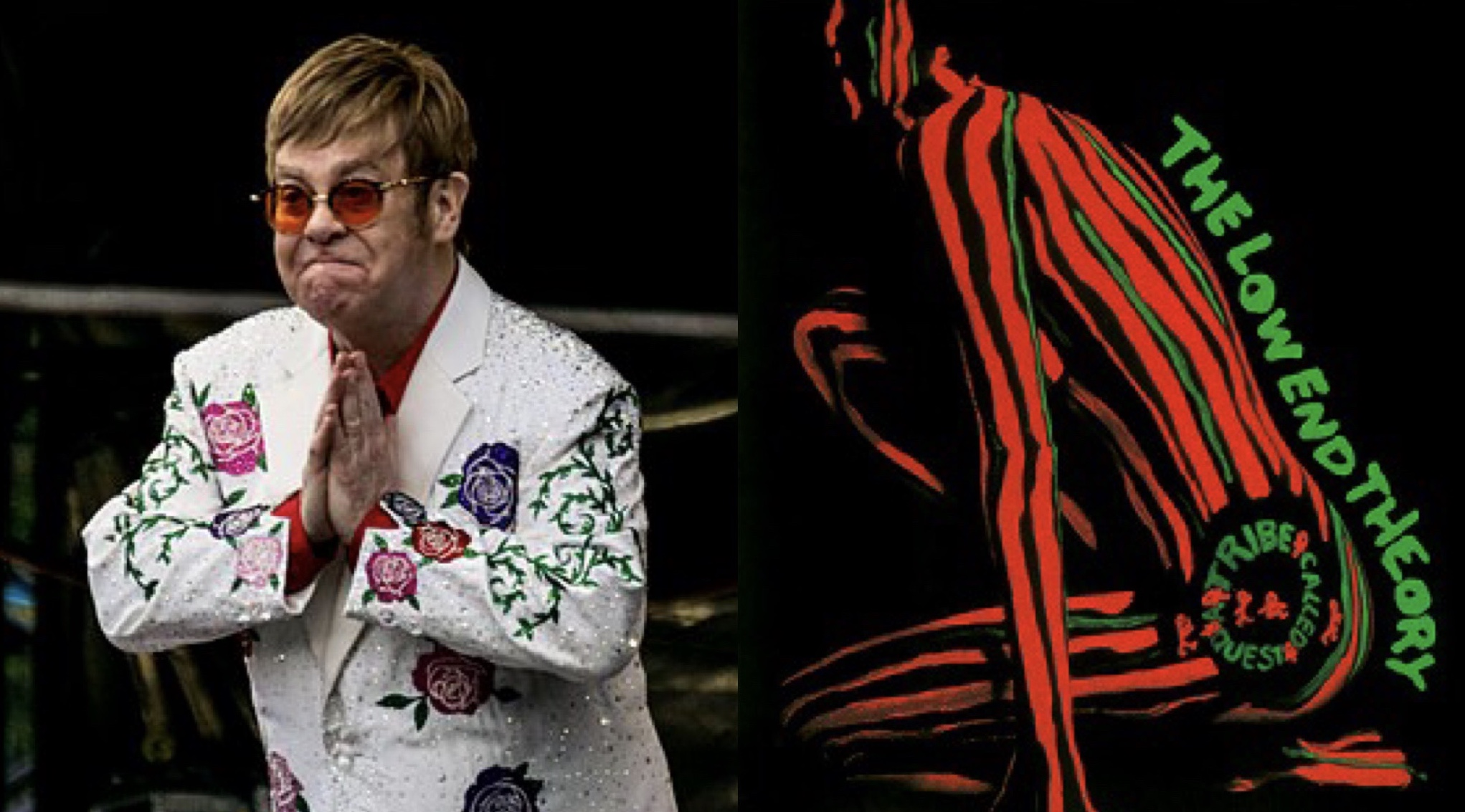 Elton John A Tribe Called Quest