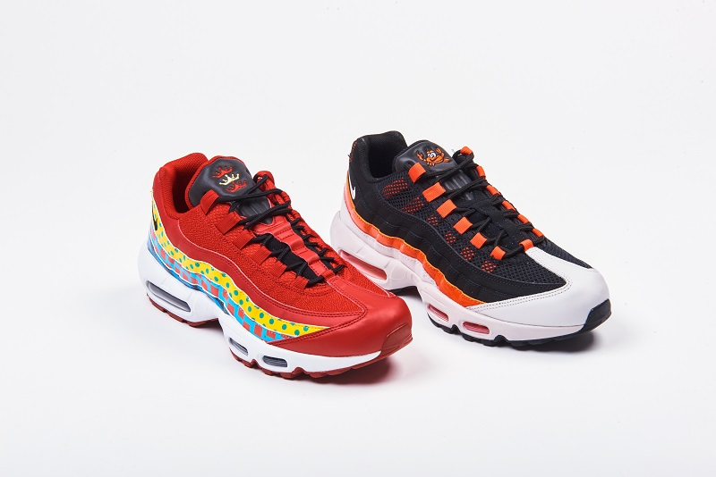 029d200137ed Nike Celebrates Baltimore with  Home   Away  Air Max 95 Collection