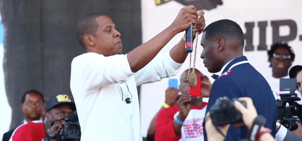 Jay Z Jay Electronica Brooklyn Hip Hop Festival