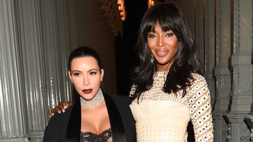 Kim Kardashian Pays Homage to Naomi Campbell After Getting Dragged for Ripping Off the Model's Vintage Looks