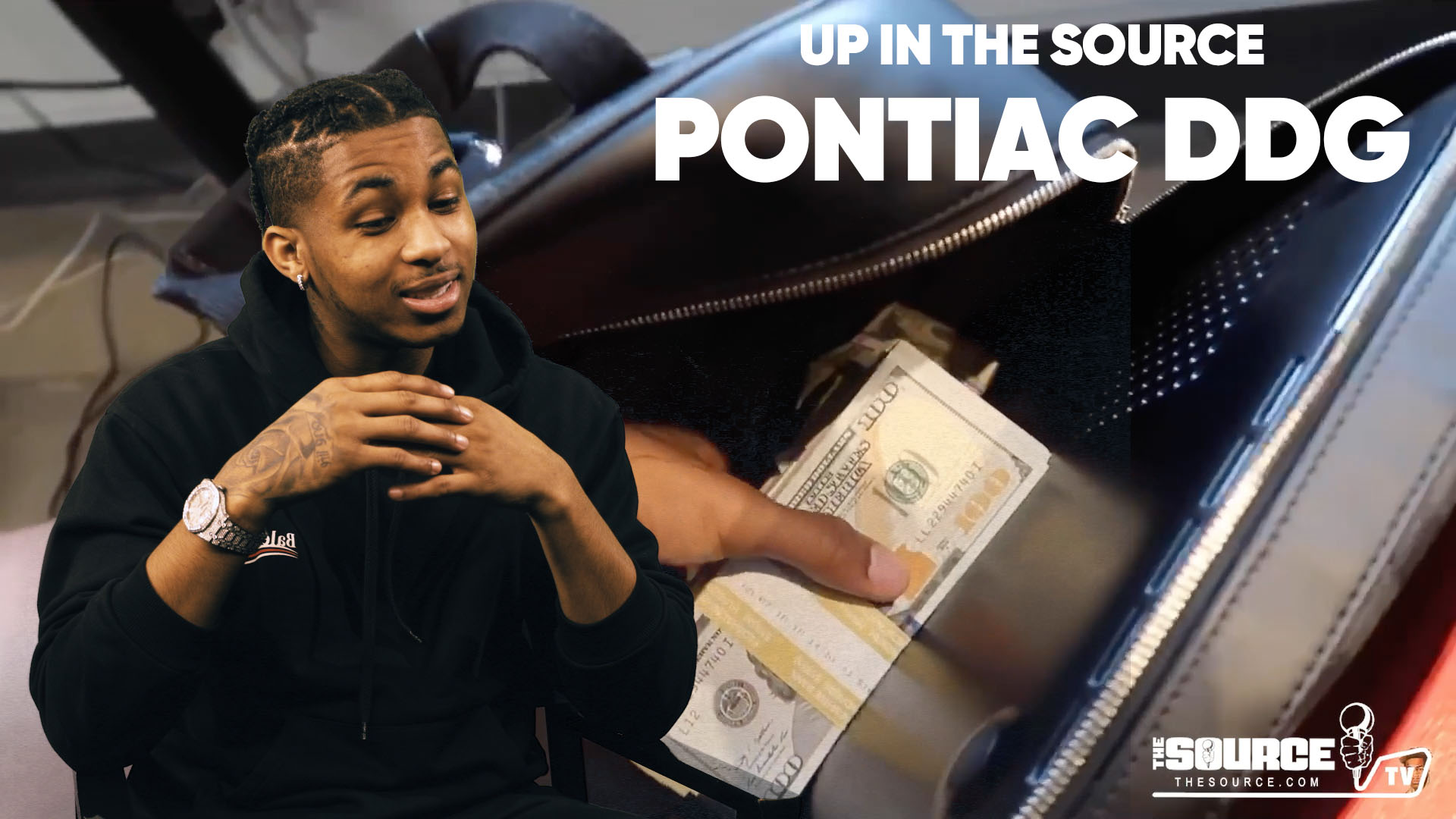 The Source Up In The Source Pontiac Made Ddg Speaks On Earning 50 000 A Month From Youtube