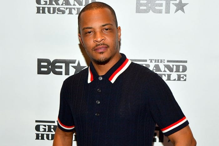 T.I. Presses Man Wearing Gucci