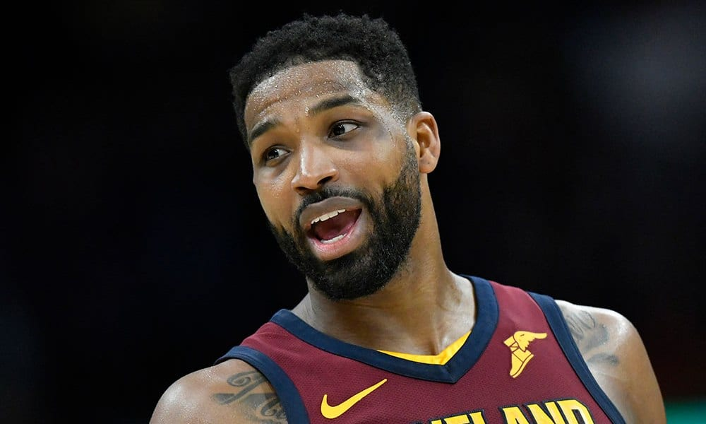 Tristan Thompson Spotted With Mystery Woman in NYC