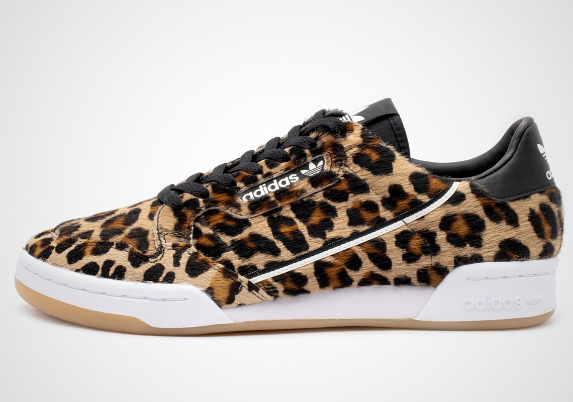 "competitive price 6563f 24b21 Check for the adidas Continental 80 ""Leopard"" option seen here to drop very  soon for  80 USD. Get a better look below"