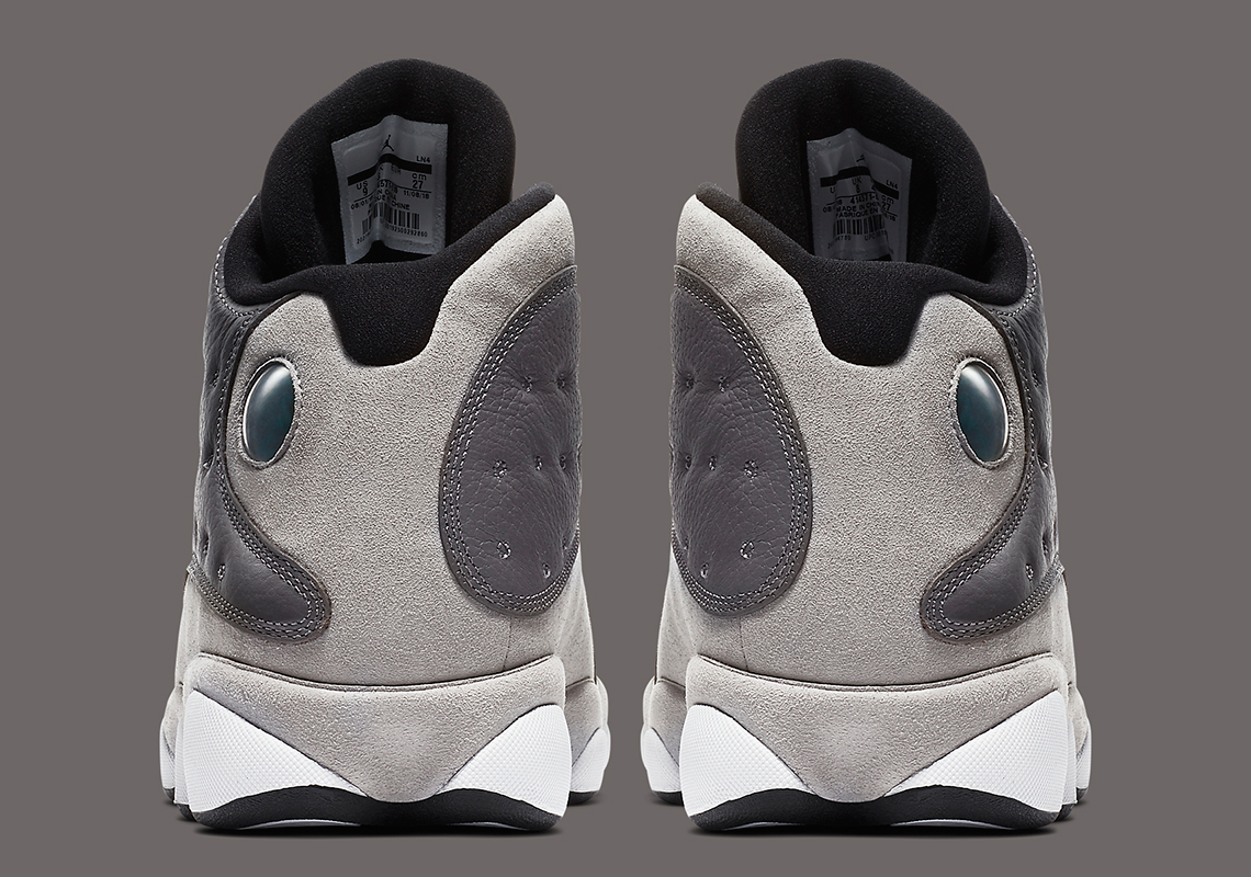 """new style ab809 376dc Expect the Air Jordan 13 """"Atmosphere Grey"""" to arrive this Saturday (March 23)  for  190 USD at select retailers, including Finish Line. More pics below"""