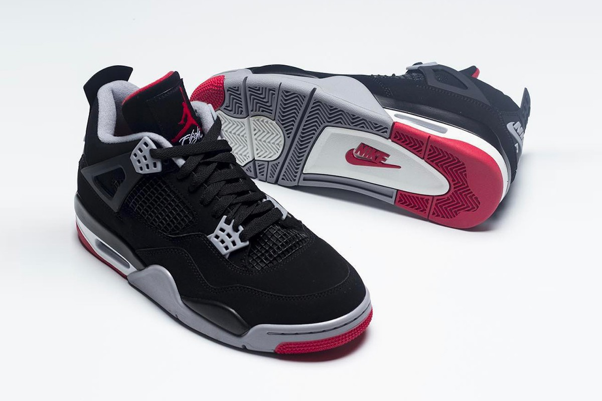"e8130aefbe843a The Coveted Air Jordan 4 ""Bred"" Returns For a 30th Anniversary Release"