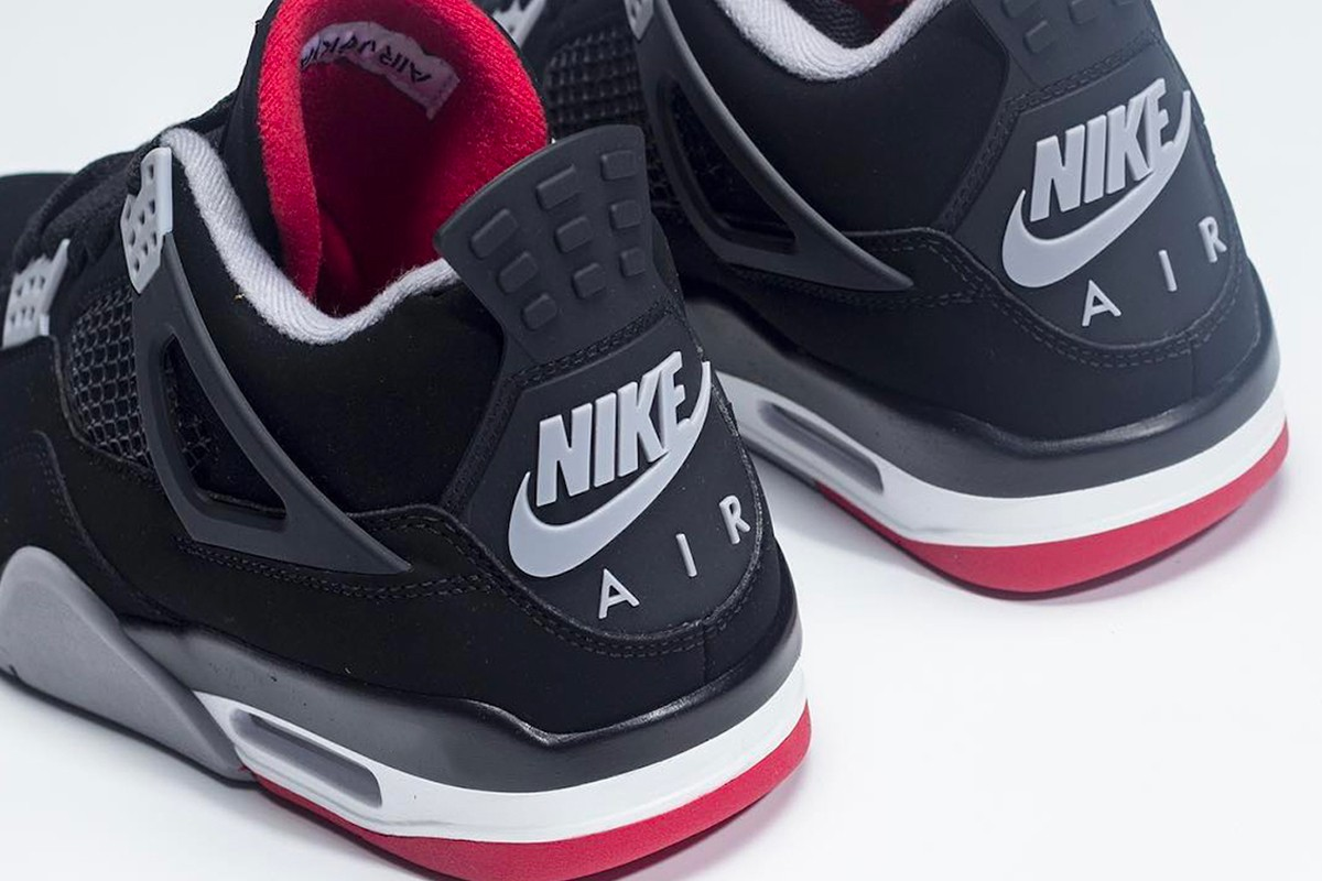 "490bd7fe2826 Check for the 2019 Air Jordan 4 ""Bred"" to hit JB retailers and Nike.com for   200 USD on May 11. Peep these initial images below for a preview"