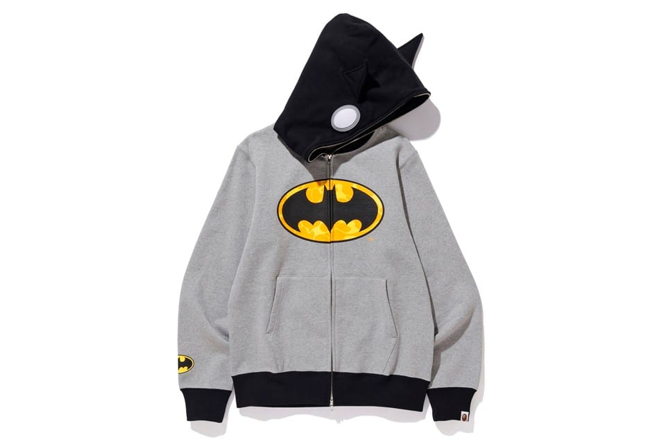 bape dc comics  collaboration