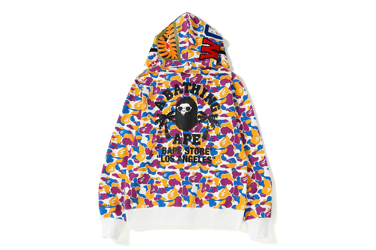 620208b01e5d The BAPE LA 1st Anniversary Collection has a few pieces available right now  online