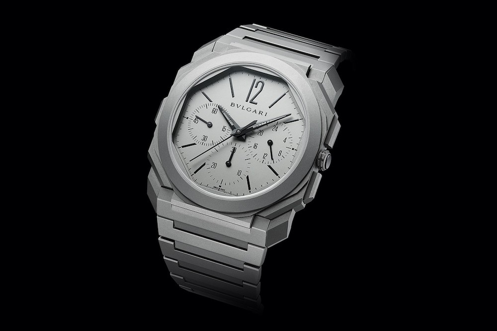 bvlgari octo finissimo chronograph watch worlds thinnest