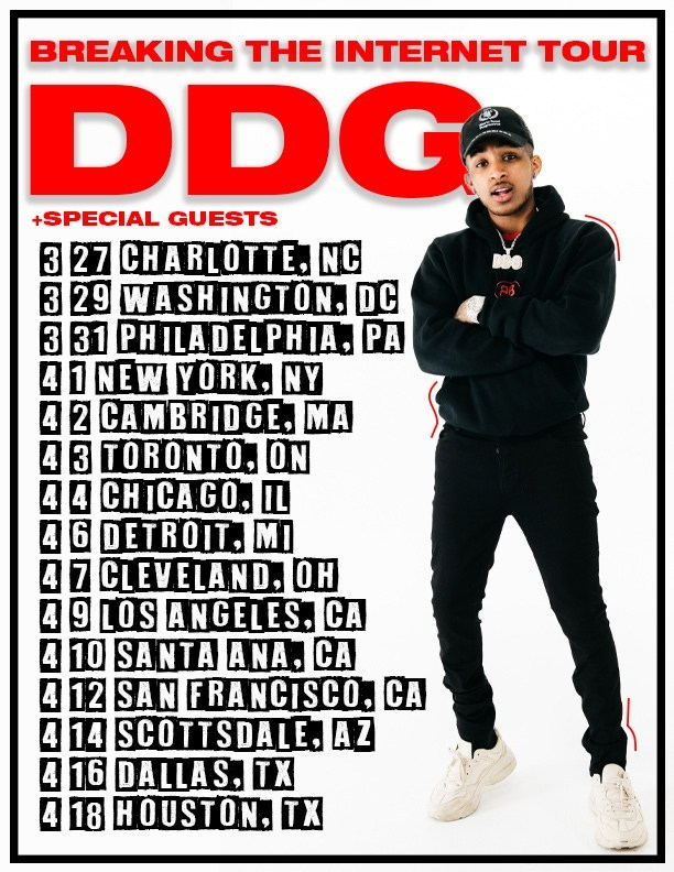 DDG Set to 'Break the Internet' on His New Tour | The Source