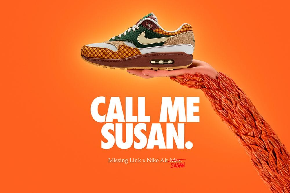 "619564047663 Nike Preps For the Release of  Missing Link  With Air Max ""Susan"" Colorway"