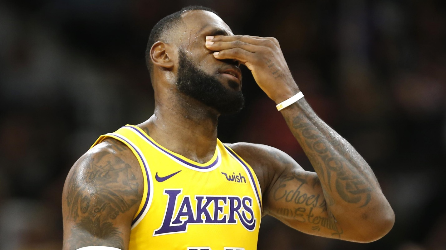 lebron lakers thesource