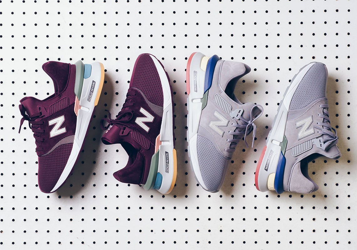 """e37aa3cd8 The New Balance 997 Gets a Fresh Makeover in """"Dark Current""""   """"Light  Aluminum"""""""