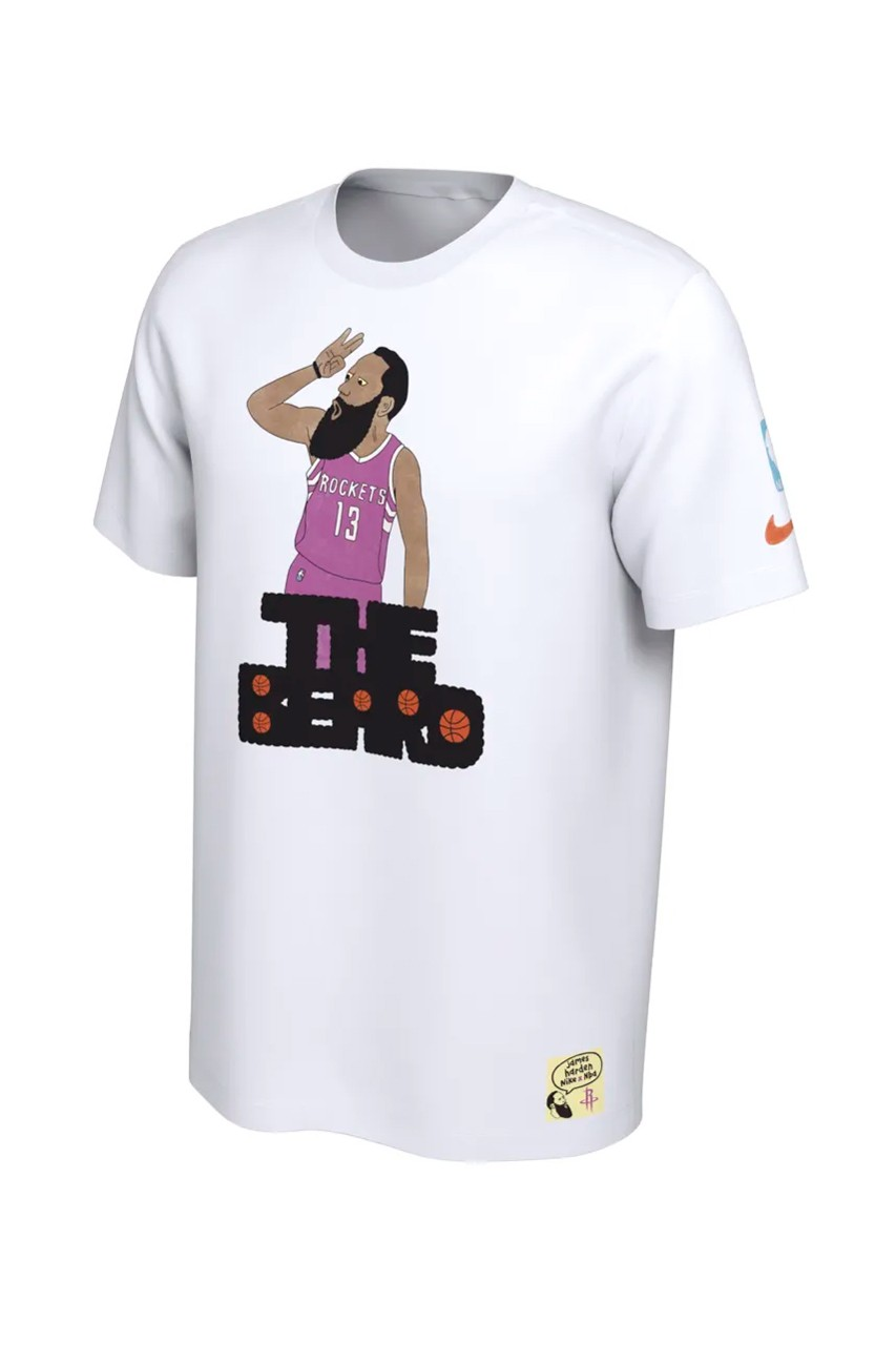 "03eb66bc782c Nike Links With Gangster Doodles For a ""NBA Nickname"" T-Shirt Collection"